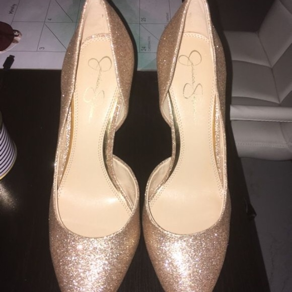 a70ccc726d8 Jessica Simpson Shoes - BRAND NEW Jessica Simpson Rose Gold Heels